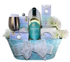 Bath Gift Basket Body U0026 Mind Spa Gift Basket Luxury Gift Baskets By Thoughtful