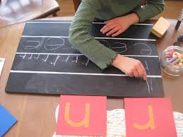 montessori writing paper the wonder years montessori writing within lines montessori writing within lines
