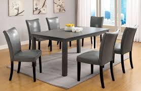Inspiring Cheap Kitchen Dining Table And Chairs  For Dining Room - Grey dining room sets