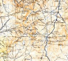 Mount Washington Map by Fifth Annual Tuckerman Ravine Expedition