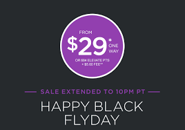 black friday airline deals alert virgin america black friday from 29