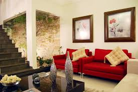 decorative ideas for living room 12 red white living room courtyard interior design ideas