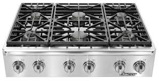 Gas Cooktop Sears Kitchen Dacor Gas Cooktop Distinctive 6 Burner Replacement Knobs