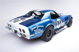 corvette auctions 1968 chevrolet corvette l88 race car convertible barrett jackson