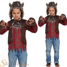 Werewolf Costume Child Werewolf Costume Boys Girls Halloween Wolf Fancy Dress