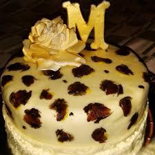 leopard print cake u2013 baked treats