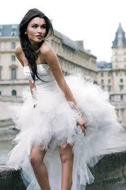 robe mari e courte devant longue derriere robe de mariée plage bustier ruchée courte devant longue derrière