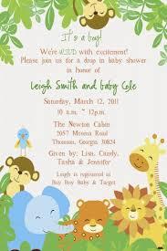 baby shower invitations printable safari baby shower invitations
