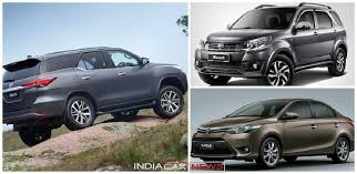 toyota upcoming cars in india advanced automobiles top 3 upcoming toyoto cars in india