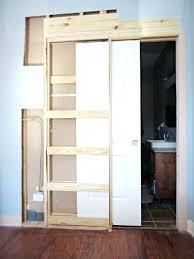 Bathroom Door Ideas Bathroom Door Ideas Sliding Barn Door Small Bathroom Closet Door