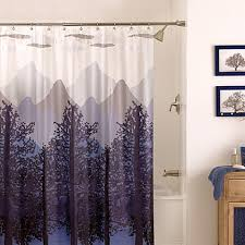 Shower Curtains Bed Bath And Beyond Misty Mountain 70 Inch X 72 Inch Shower Curtain Bed Bath U0026 Beyond