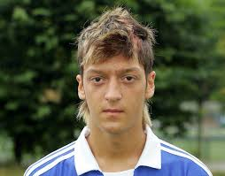 mesut ozil hair style funny pictures of mesut ozil hairstyles and haircuts from past