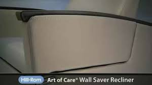 art of care wall saver recliner hill rom com