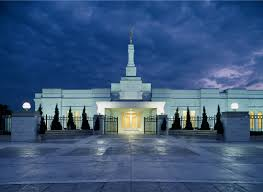 Lds Temples Map Oklahoma City Oklahoma Temple In The Evening