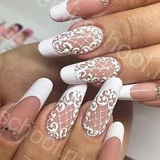 17 popular lace nail designs u2013 nail designs 2017