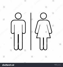 Male Female Bathroom Signs by Mens Bathroom Sign Outline Stiprut Info