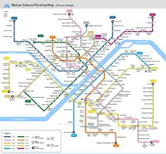 Shenzhen Metro Map In English by Visitor Optics Valley Of China International Optoelectronic