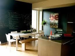 tableau de cuisine moderne le tableau noir une idée de déco cuisine créative et conviviale