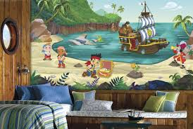 jake and the never land pirates xl mural 10 5 x 6 wall sticker jake and the never land pirates xl mural 10 5 x 6