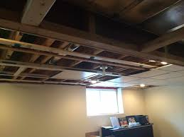 drop ideas panels for options down backyard basement drop ceiling