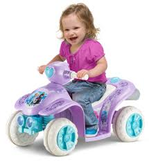 kid play car disney frozen toddler quad kid trax toys