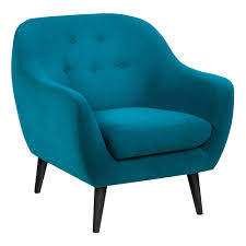 Blue Occasional Chair Design Ideas Far Pavillions Elly 1 Seater Occasional Chair Petrol Blue Fabric
