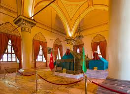 Ottoman Founder Mausoleums Of Osman The Founder Of The Ottoman Empire Editorial