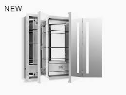 k 99011 tl verdera lighted medicine cabinet 40