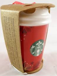 mug ornament starbucks christmas mug ornament coffee 2012 ornaments cup