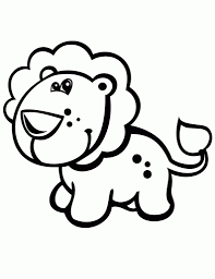 baby lion coloring pages with regard to encourage to color pages