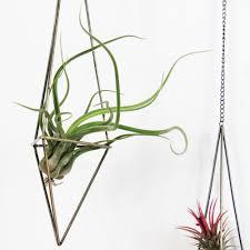 hanging planters freestanding hanging planters geometric himmeli swing wrought iron