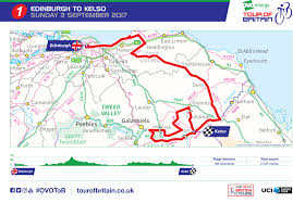 Map Of Tour De France by Ovo Energy Tour Of Britain Stage One Edinburgh To Kelso