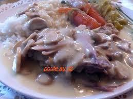 cuisiner poule les meilleures recettes de poule aux champignons