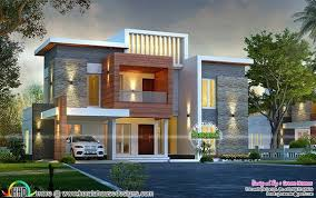 contemporary house designs awesome contemporary style 2750 sq ft home house architecture