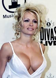 Pamela Anderson young  Pamela Anderson Breast reduction