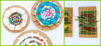 6 kids weaving crafts diy thought
