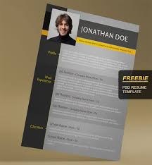 Eye Catching Words For Resume 28 Minimal U0026 Creative Resume Templates Psd Word U0026 Ai Free