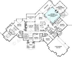 Ranch Floor Plans Kettle Creek Ranch Rustic Home Plan Luxury Home Blueprints