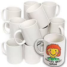 porcelain mugs bulk pack