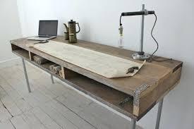 construire un bureau en bois fabriquer un bureau en bois diy un magnifique bureau informatique