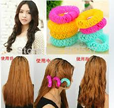 shaping long hair hairdressing tool magic lucky circle hair rollers shaping device
