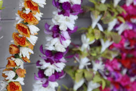 how to make a lei or flower garland waldorf inspired moms