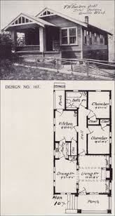 Craftsman Bungalow House Plans Old Vintage Bungalow House Plan Early 1900 U2032s How To Build Plans
