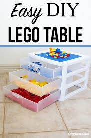 Diy Lego Table by Easy Diy Lego Table