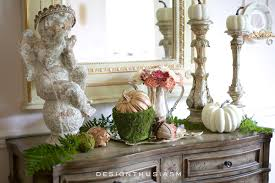 The Dinning Room 5 Tips For Creating A Fall Vignette In The Dining Room