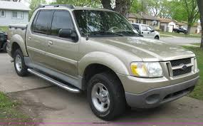 Ford Explorer Sport - 2002 ford explorer sport track suv item h8666 sold may