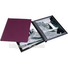 8x10 photo album print file concealed wire bound album 24 pfwbc8102ppur b h