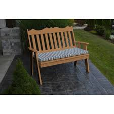 AL Furniture Co Poly  Royal English Garden Bench Rocking - Recycled outdoor furniture