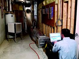 how to track down leaks in forced air ductwork