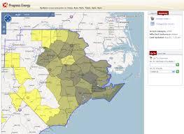 Duke Energy Outage Map Florida by Progress Energy U2013 North Carolina
